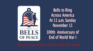 Bells to ring Sunday