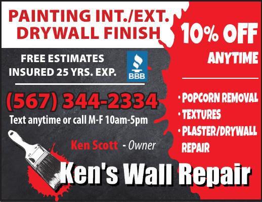 Ken's Wall Repair