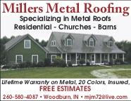 Millers Metal Roofing