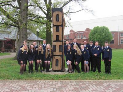 Ayersville FFA students