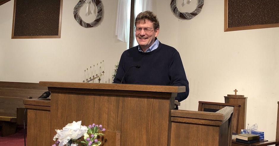 Pastor Clarence Dinnen carousel