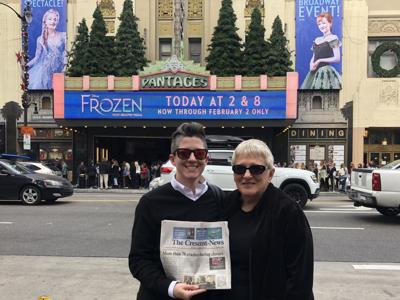 Steffels take in sites of L.A.