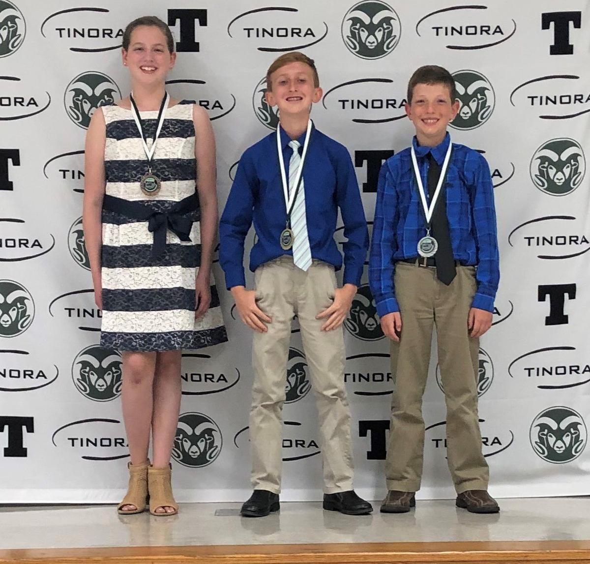 Tinora Elementary Amazing Shake winners