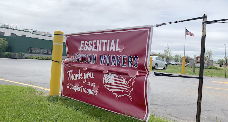 Carousel - Cooper Farms sign