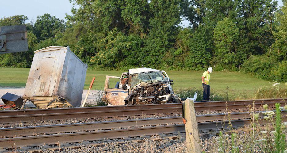 Carousel - train crash