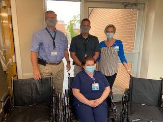 PCH wheelchair donation