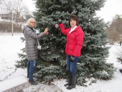 Healing Hearts Christmas tree