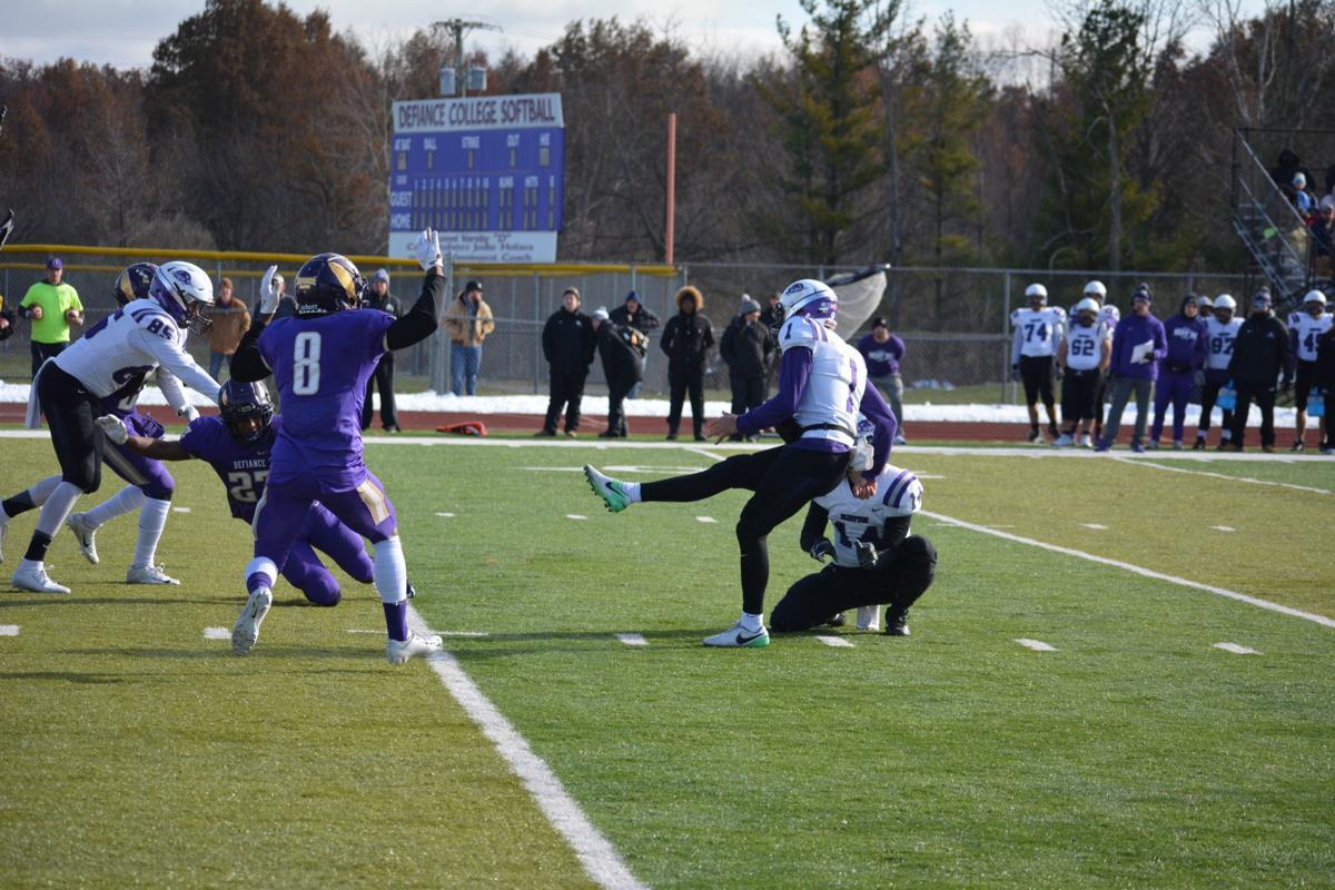 Blocked field goal