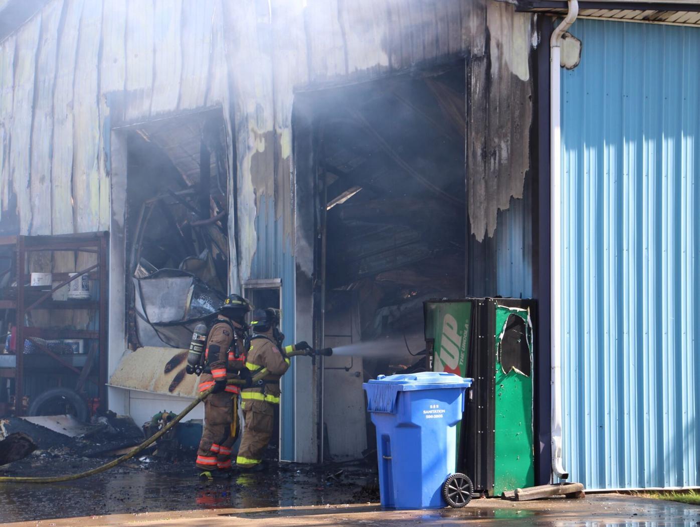 Ohio 66 South fire