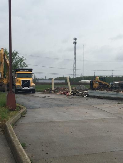 restaurant demolition photo
