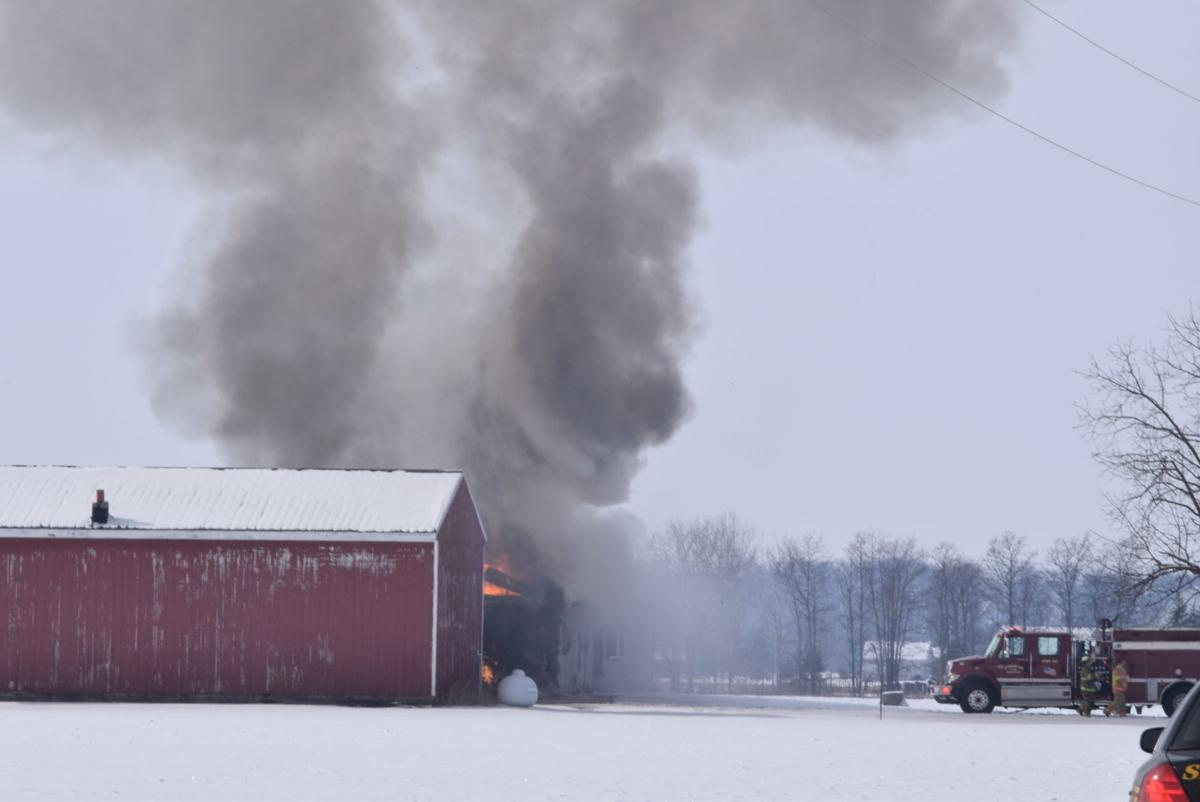 Structure fire in Defiance County | Editor\'s Pick | crescent-news.com