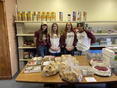 Paulding MS volunteers
