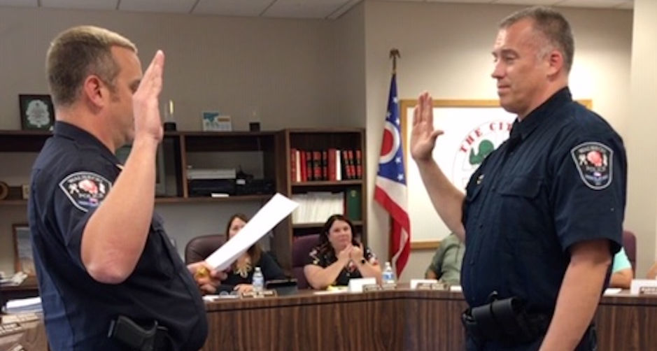 Carousel - new assistant police chief