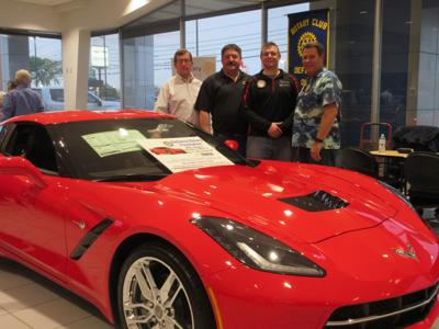 corvette raffle photo