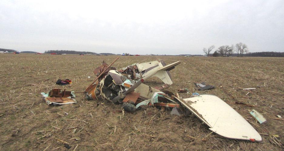 Carousel - plane crash