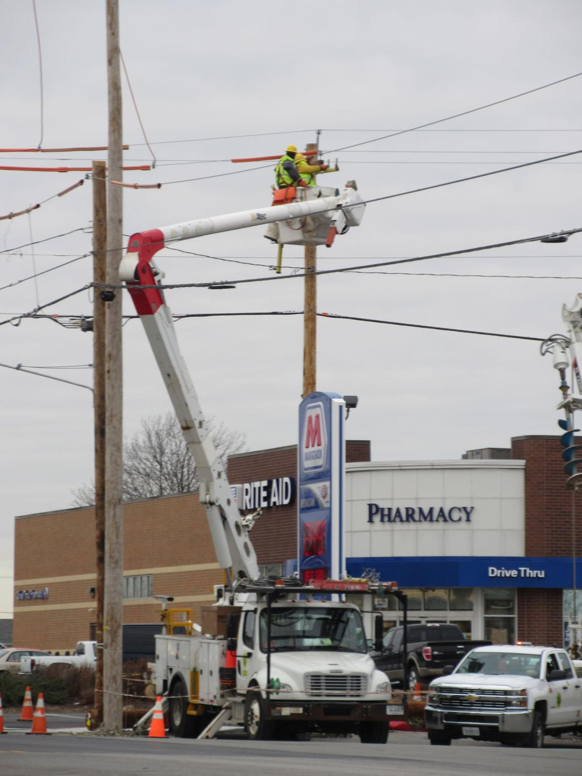 Utility work in Paulding   Local News   crescent-news.com
