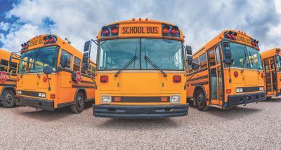 Carousel - school buses