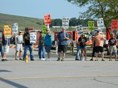 Strike at local GM plant