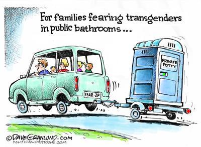 Transgender and bathrooms
