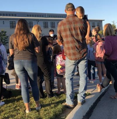 Ayersville protest