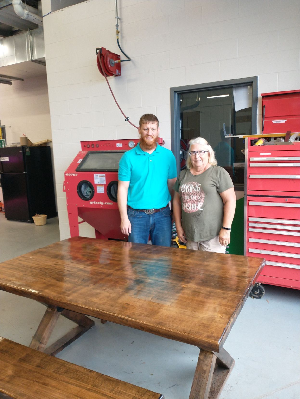 Tinora forestry table