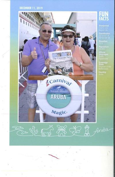 Couple celebrates 50th anniversary with trip to Aruba