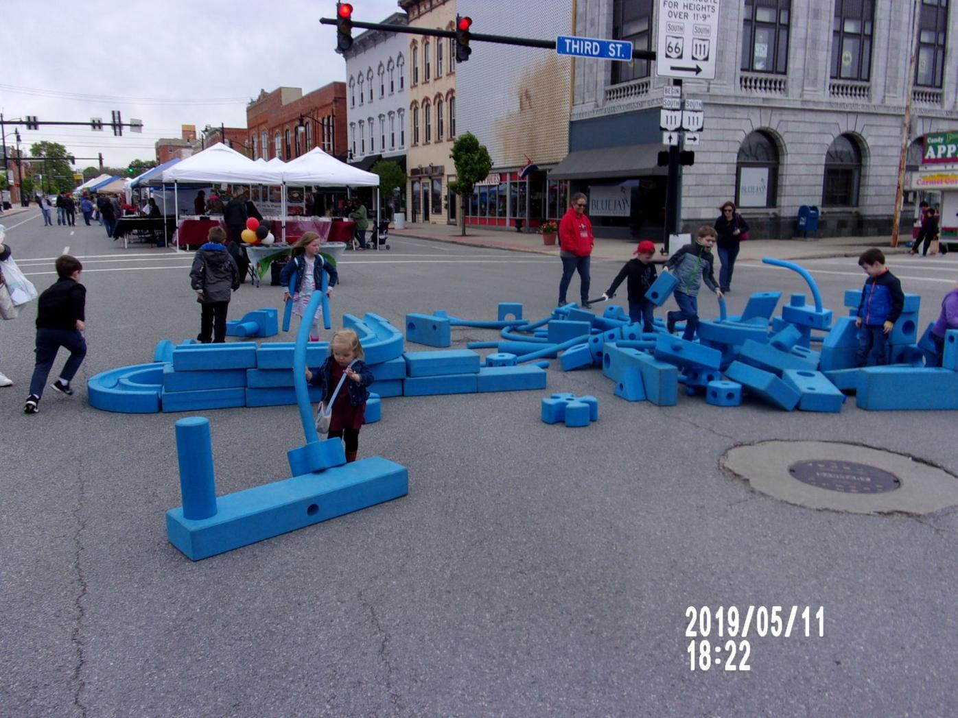 Lilac Festival - Big Blue Blocks