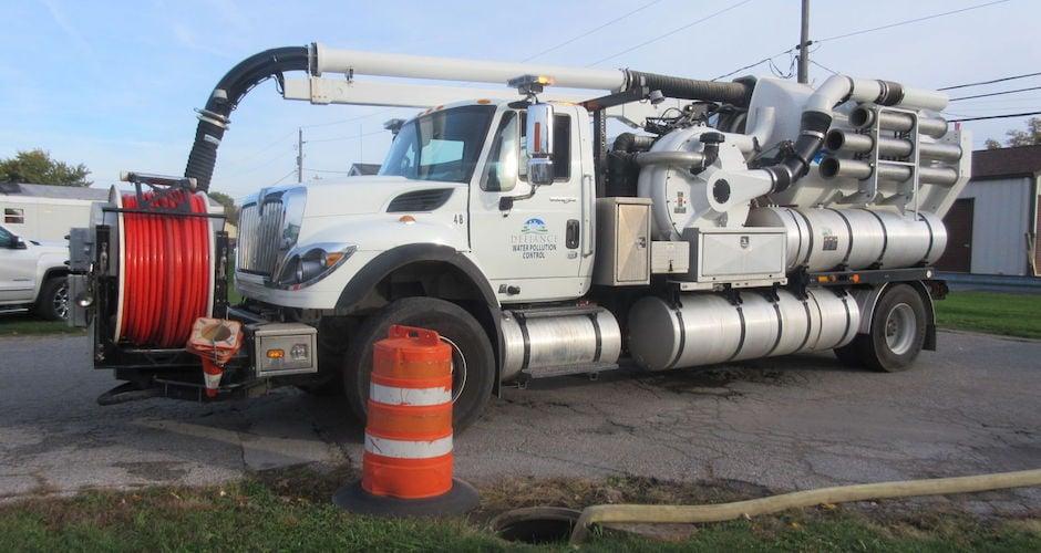 Sewer Blockage Impacts Defiance Northside Mobile Home Park