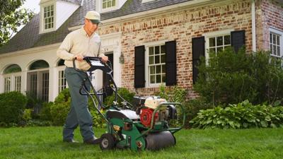 BPT Aerate your lawn