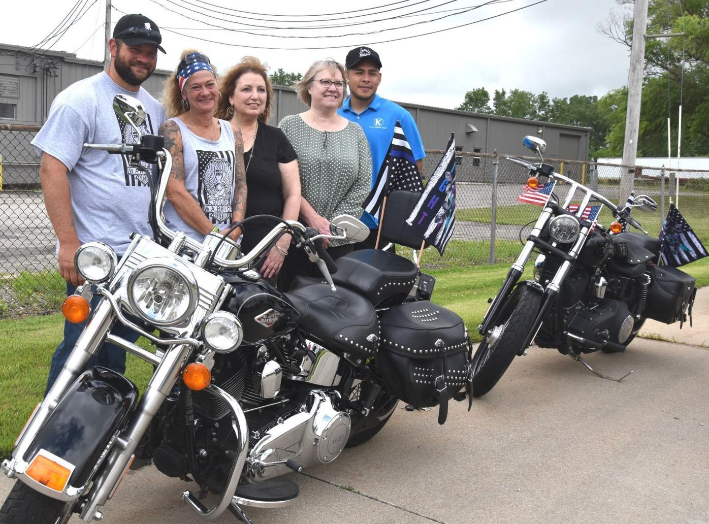 Dennis Deeds motorcycle benefit