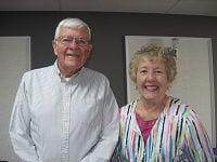 Dave Jones and Becky Geiger