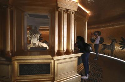 AP David statue