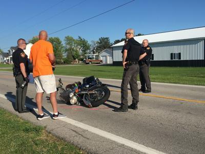 motorcycle crash photo