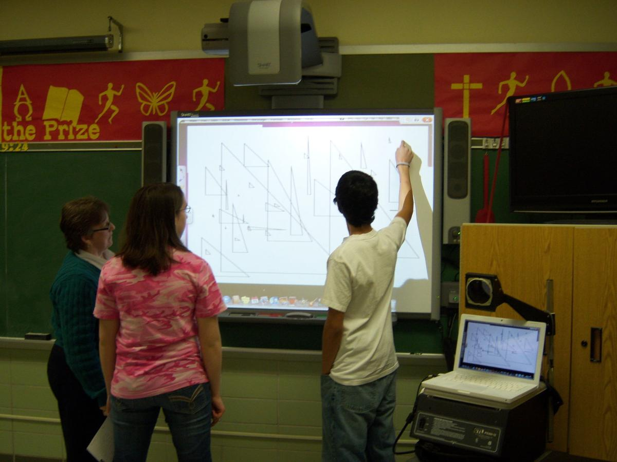 Pat Marshall teaching