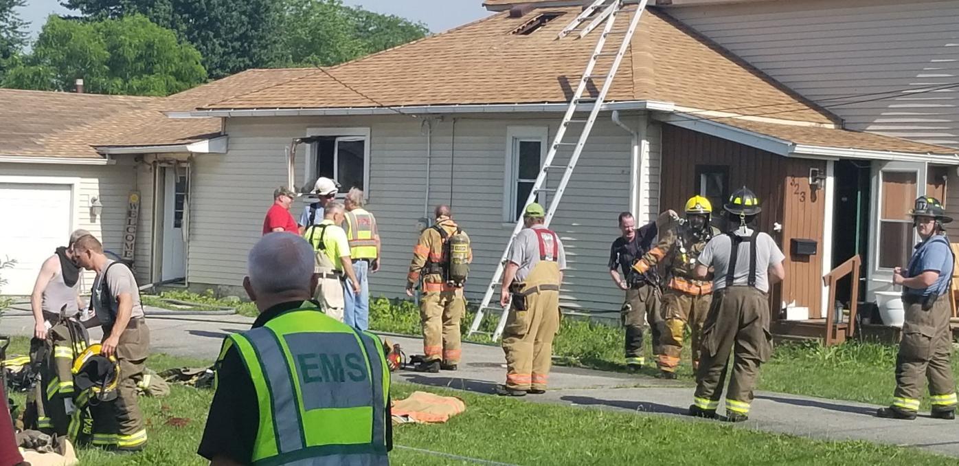 Hicksville Fire guts home
