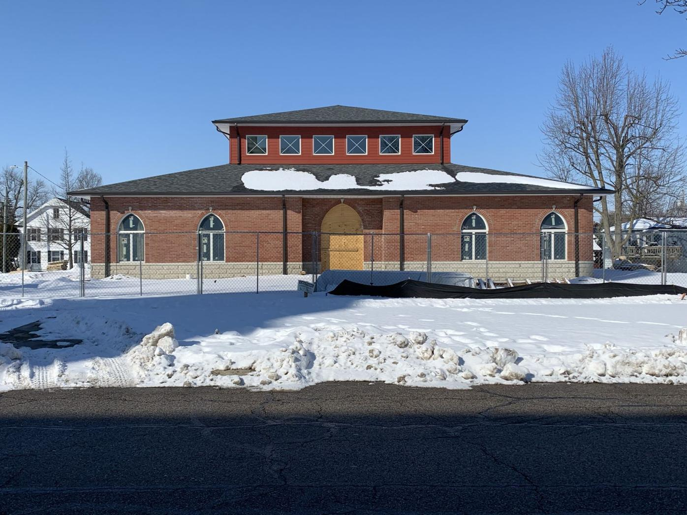 St. Augustine center front