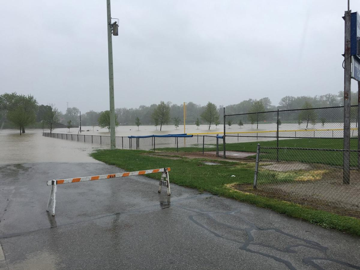 kingsbury park flooding