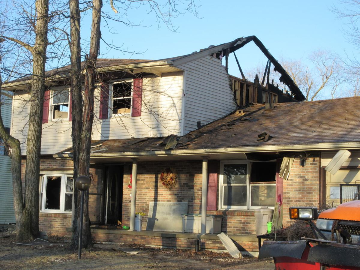 Defiance home destroyed by fire