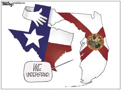 Texas and Florida