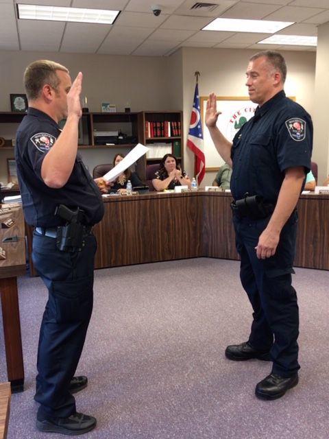 Asst. chief sworn in