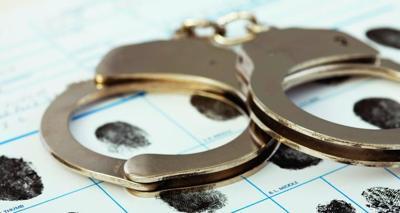 Crime handcuffs carousel