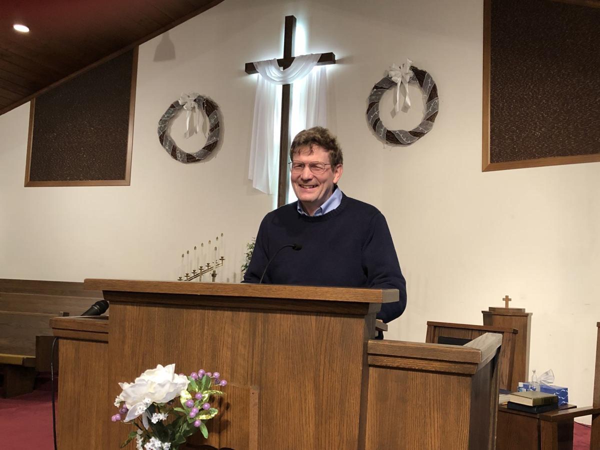 Pastor Clarence Dinnen