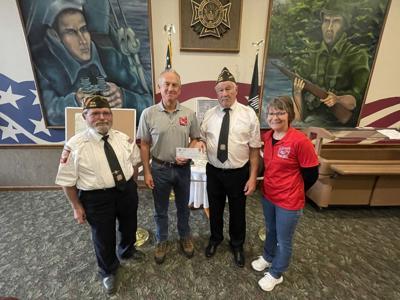 VFW Post 3360 donates to Flag City Honor Flight
