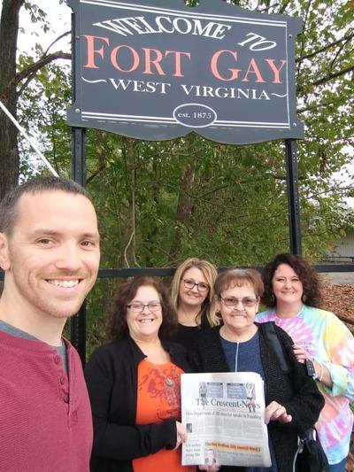 Fort Gay visit