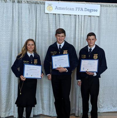 Four County grads earn FFA degree