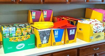 Carousel - school supplies