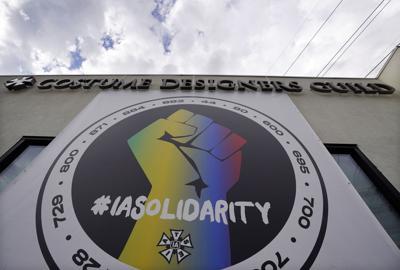 AP Hollywood strike