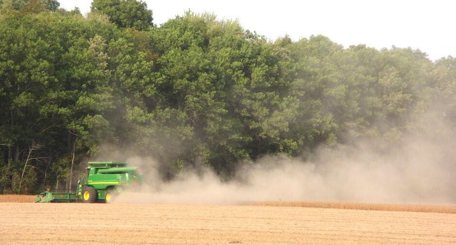 Carousel - Soybean harvest