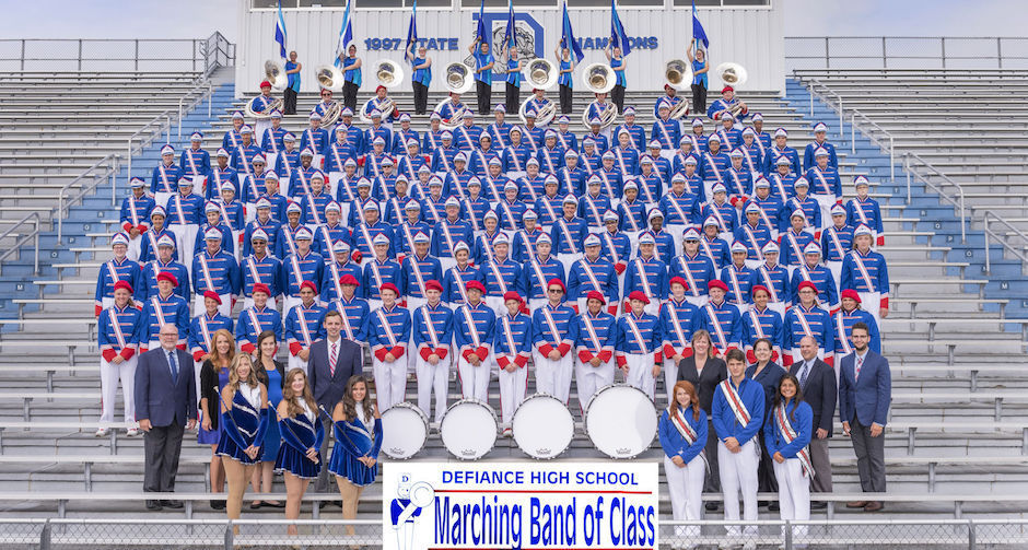 DHS band 2018 carousel