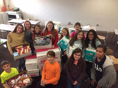 Paulding MS food donation